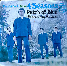 FRANKIE VALLI & THE 4 SEASONS - PATCH OF BLUE - PHILIPS 45 WITH PICTURE SLEEVE