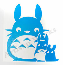Chibi Chu Totoro Ghibli My Neighbor Totoro decal sticker anime car window laptop