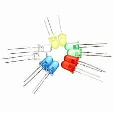 100x 5mm runden LED Leuchtdioden 5 Farben(20er Jede Farbe) GY