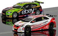 Scalextric c3694a BTCC Champions Twin Pack
