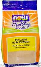 NEW NOW FOODS HEALTHY PSYLLIUM HUSK POWDER DIETARY SUPPLEMENT 24 oz 680 g