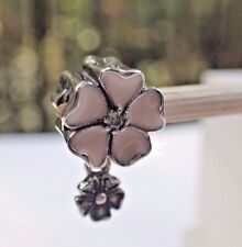 Authentic Pandora Charm Poetic Blooms Dangle 791827EN40 New w/TAgs