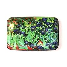 "Credit Card Case (Armor Wallet) - ""Irises"" - Protect Your Identity!"