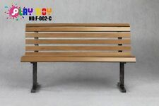 1/6 PLAY TOY Scene Props Red Park Benches Chairs brown figure model Peaches game