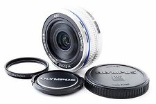 *Excellent+++!!* Olympus M.Zuiko 17mm f/2.8 Silver Lens For Micro Four Thirds