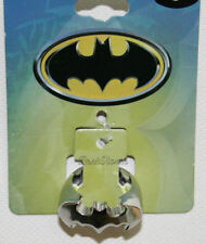 DC Comics Batman BAT LOGO Dark Knight Metal Costume Jewelry Ring Men's Size 7 SM