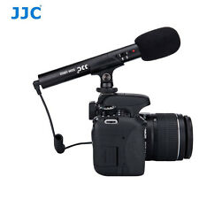 JJC SGM-185II Compact Shotgun Microphone for DSLR or Camcorder D7200 5D 6D D810
