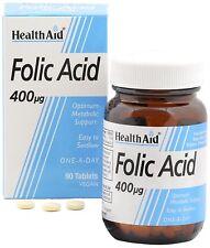 Health Aid acido folico 400ug - 90 Compresse
