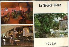 CP 46 Lot - Touzac - La Source Bleue - Hôtel-Restaurant