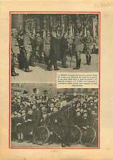 Generalfeldmarschall Paul von Hindenburg Hitler Berlin Germany 1933 ILLUSTRATION