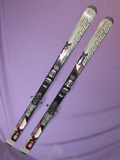 Fischer CX 2.2 Glassfiber skis 160cm with Rossignol Axium 120 DEMO ski bindings~