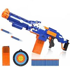 Replica Nerf Soft Bullet Gun Toy Shot Electric Weapon  Rocket Sniper Rifle Dart