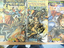 3 X COMIC-Medieval Witchblade-Special 1-3 completa, Splitter