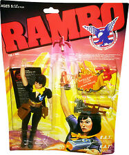 RAMBO The Force of Freedom K.A.T. (KAT) Mint on Sealed Card New! MOSC!!