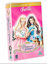 Barbie As the Princess and the Pauper [VHS], Acceptable VHS, ,