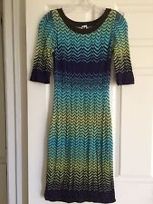 Missoni Fitted Knit Dress, Size 6/42