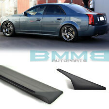 PAINTED VRS STYLE FOR Cadillac CTS-V CTS Sedan Rear Roof Spoiler 2004-2007