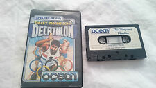 JUEGO SPECTRUM SINCLAIR ZX DECATHLON DALEY THOMPSON´S CAJA GRANDE 48K 128K PAL