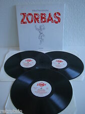 Mikis Theodorakis | Zorbas | 3 LPs | Platinum 9040-3 | LP & Cover: Very Good +