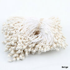 280 PCS Artificial Flower Stamen Double Tip Pearlized Craft Cakes Decoration