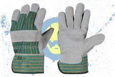 Lederhandschuhe 1 Paar Arbeitshandschuhe Handschuhe Schutzhandschuhe Gr.10,5 NEU