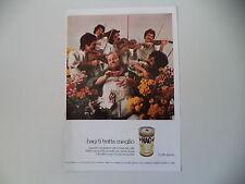 advertising Pubblicità 1972 CAFFE' HAG