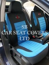 i - TO FIT A NISSAN NP300 NAVARA CAR, SEAT COVERS, BLUE VRX FULL SET