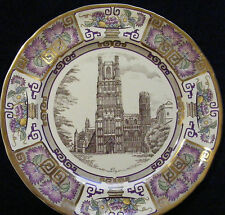 """Masons Ironstone 10"""" Cathedral Christmas Plate: 1985 Ely"""