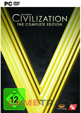Sid Meier's Civilization 5 V Complete Edition DE/EU STEAM CD Key Download Code