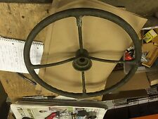 vintage truck military 6x6 4x4 duece and a half steering wheel