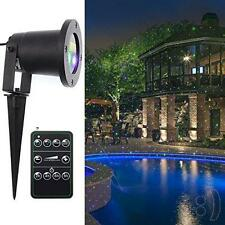 SeresRoad Halo Blue and Green  Laser Christmas Projection Lights IP65 Outdoor
