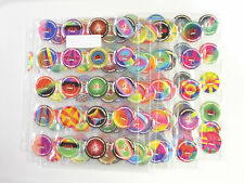 U.F.O. POGS  COMPLETE SET OF (144) BY COLLECT-A-CARD WITH ALL LETTERS A-R