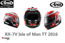 LIMITED EDITION ORIGINAL ARAI RX-7V ISLE OF MEN TT FULLFACE HELMET SIZE L