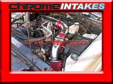 96-00 01 02 03-05 CHEVY S10/ZR2/BLAZER/SONOMA/JIMMY 4.3L V6 COLD AIR INTAKE RED