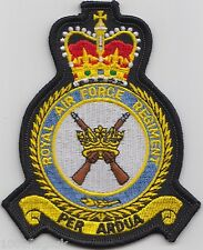 RAF Royal Air Force Regiment Crest Badge Patch - MOD Approved