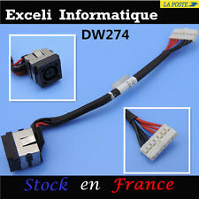 Dc Jack Socket & Cable Wire PC portable DELL INSPIRON 15R N5040