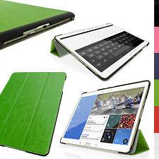 """Grün PU Leder Smart Cover für Samsung Galaxy Tab S 10.5"""" SM-T800 SM-T805 Tasche"""