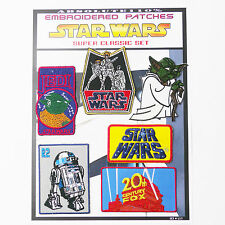 STAR WARS Movie Titles & Classic Patches- Iron-On Patch Mega Set #17 - FREE POST