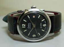 VINTAGE OPTIMA MEMOSCOPE AUTOMATIC DATE SWISS MENS WRIST WATCH E248 Old used