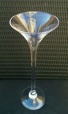 Tall Martini Glass Vase 50 cms Wedding Centrepiece Party Table