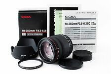 SIGMA ZOOM 18-200mm F/ 3.5-6.3 DC OS HSM Nikon [Excellent+] from Japan 152098