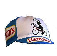 NEW Bella Capo Cycling/Bicycle Hat - Hamm's Beer Design Cap - Made in Italy