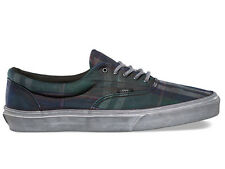 Vans Era CA Over Washed Plaid Nine Iron Blanc de Black Mens Sneakers Shoes 6.5