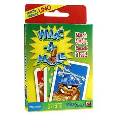 Whac A Mole Family Card Game - Snap Style Travel Card Game by the Makers of Uno