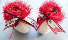 HOCKEY FANS!!! Detroit RED WINGS Baby Booties