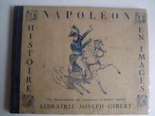 IMAGIER DE NAPOLEON . 25 Hors textes couleurs d' André Collot . 1930