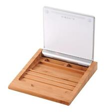 Bamboo Touchpad Tray Docking Holder for Apple Keyboard Magic Trackpad MKLG