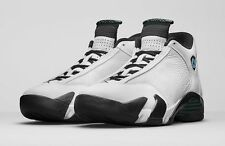 2016 Nike Air Jordan 14 XIV Retro OG SZ 11.5 White Oxidized Green 487471-106