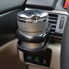 Black Clip-on Plastic Cup Can Drink Bottle Holder Fit for Auto Car Vehicle