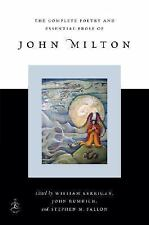 Modern Library: The Complete Poetry and Essential Prose of John Milton by...